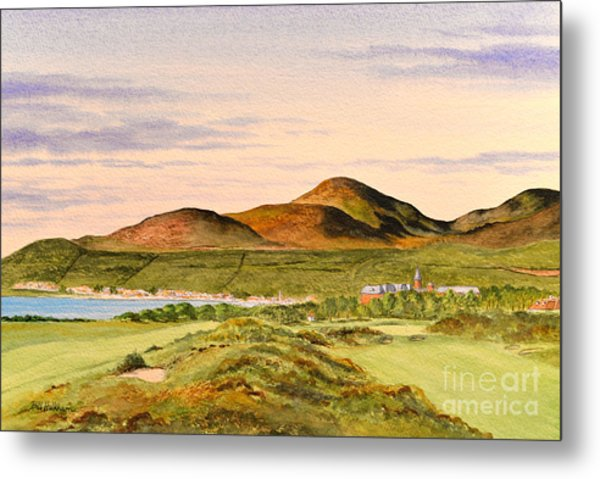 Royal County Down Golf Course Metal Print