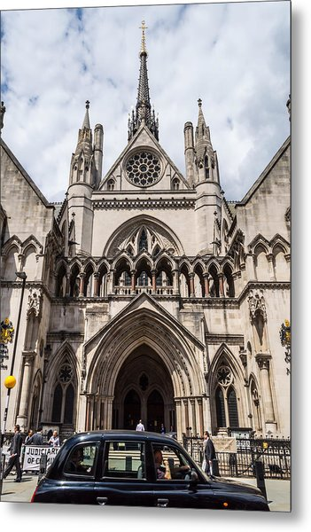 Royal Courts Of Justice In London Metal Print