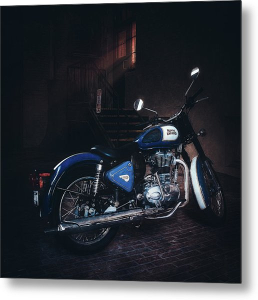 Royal Enfield Metal Print