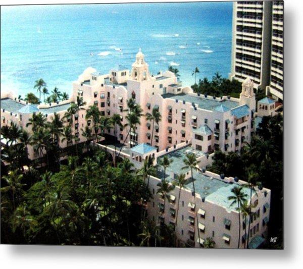 Royal Hawaiian Hotel  Metal Print