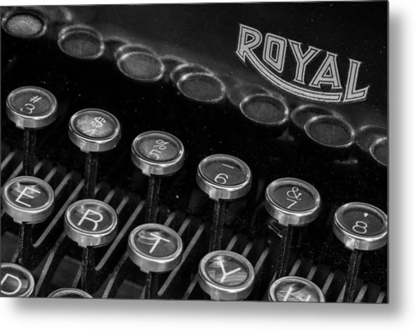 Royal Keys Metal Print