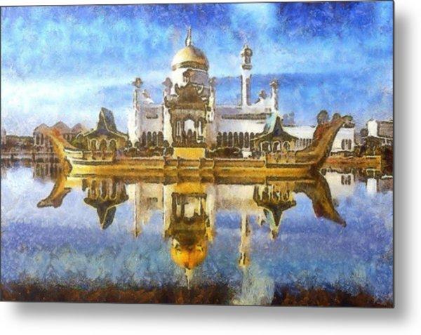 Royal Mosque  Metal Print