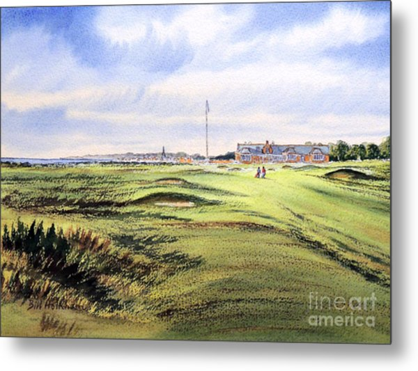 Royal Troon Golf Course Metal Print