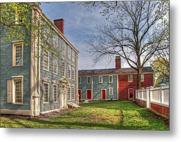 Royall House And Slave Quarters Metal Print