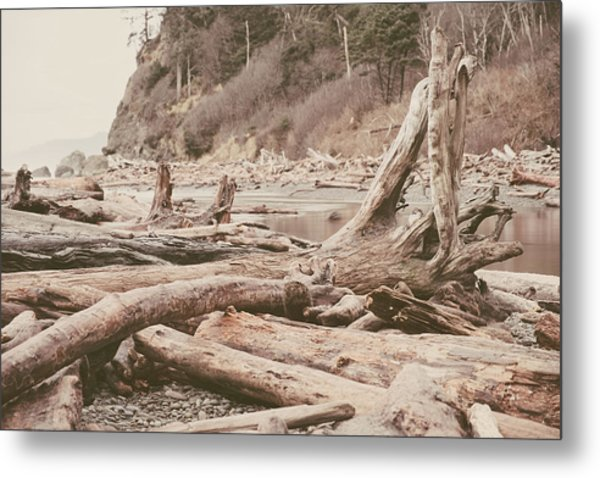 Ruby Beach No. 9 Metal Print