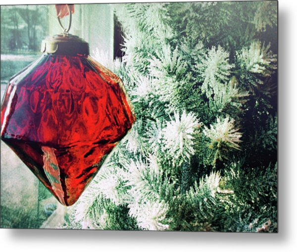 Ruby Red Metal Print by JAMART Photography