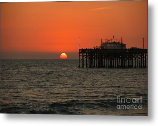 Ruby's Sunset Metal Print