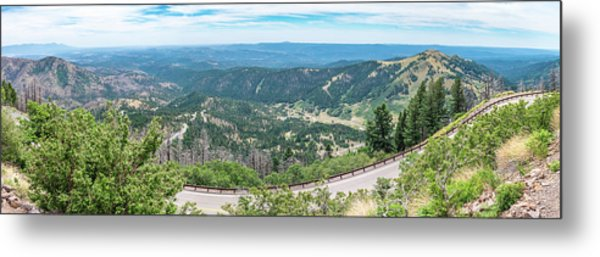 Ruidoso, Nm Panoramic Metal Print