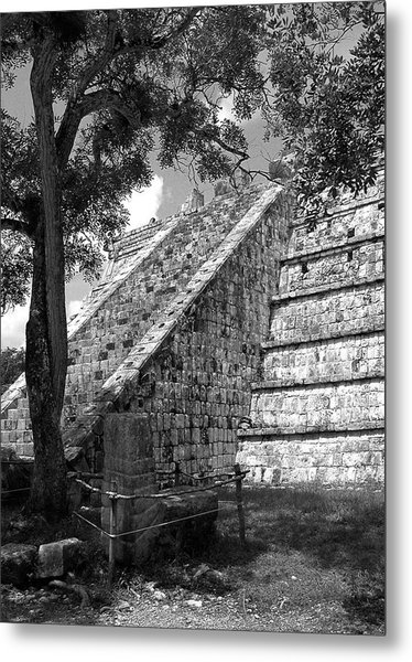 Ruins At Chichen Itza 1 Metal Print
