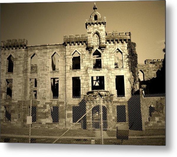 Ruins Metal Print