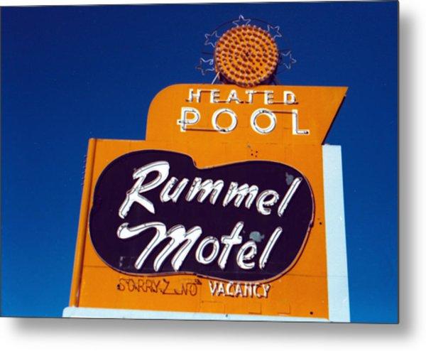Rummel Motel Metal Print