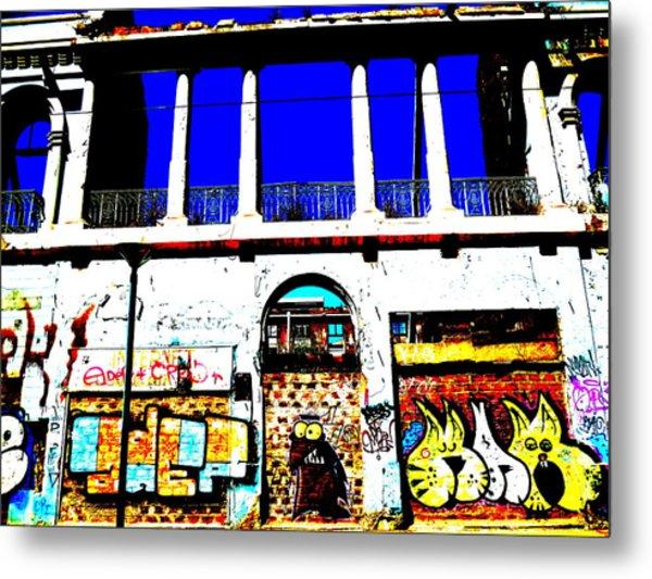 Run Down Valparaiso Buildings Metal Print