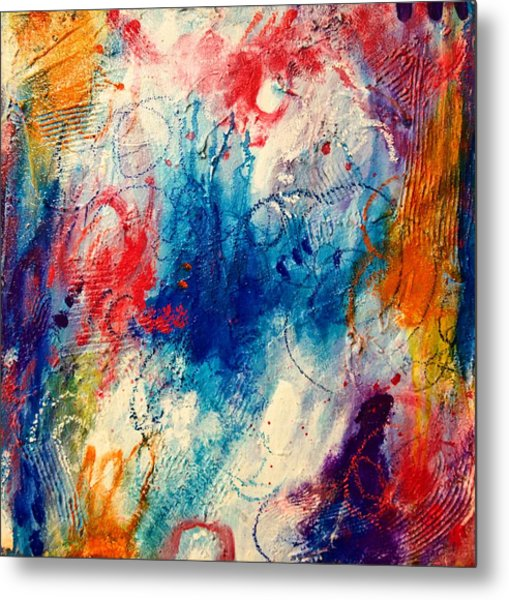 Metal Print featuring the painting Run Like The Wind by Tracy Bonin