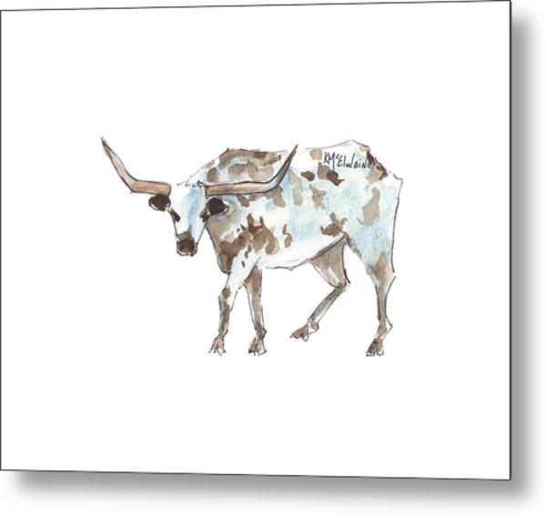 Running Back Texas Longhorn Lh070 Metal Print
