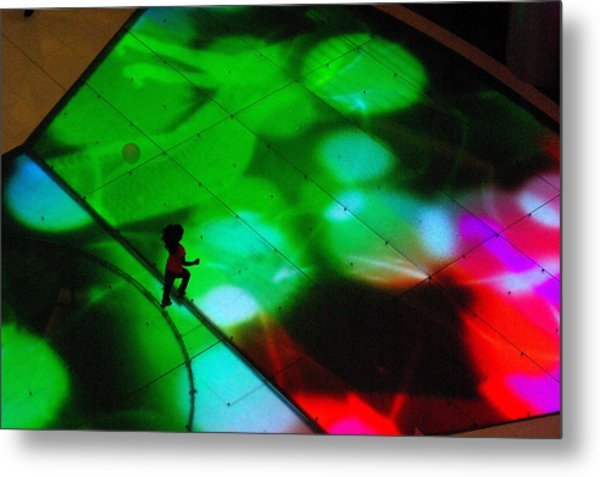 Running On Colours Metal Print by Iain MacVinish