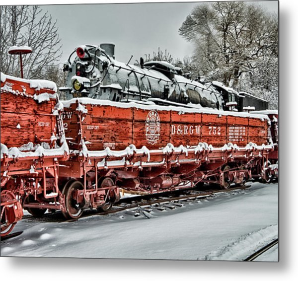 Running Out Of Steam Metal Print