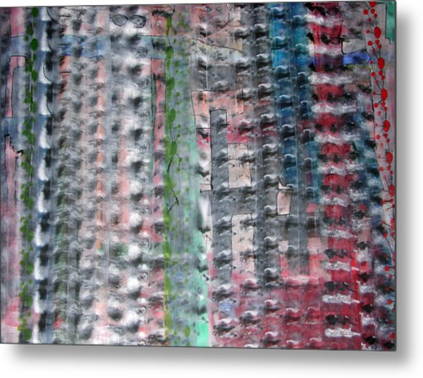 Running Water Metal Print by Russell Simmons