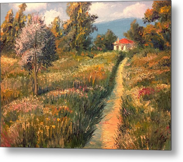 Rural Idyll Metal Print