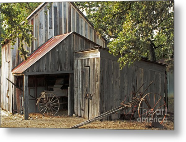 Rural Texas Metal Print