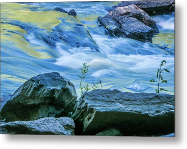 Rushing Creek Metal Print