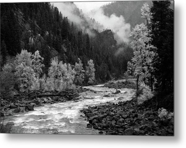 Rushing River Metal Print
