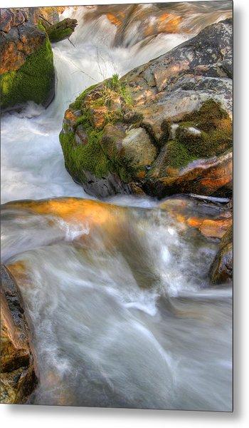 Rushing Water 2 Metal Print by Douglas Pulsipher