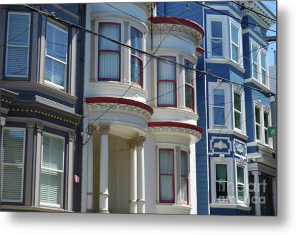 Russian Hill Metal Print