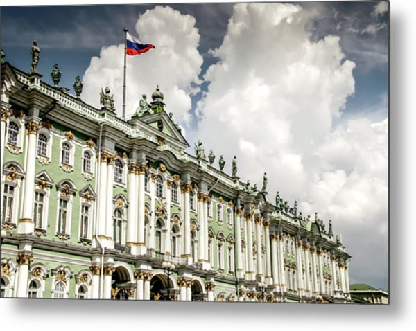 Russian Winter Palace Metal Print