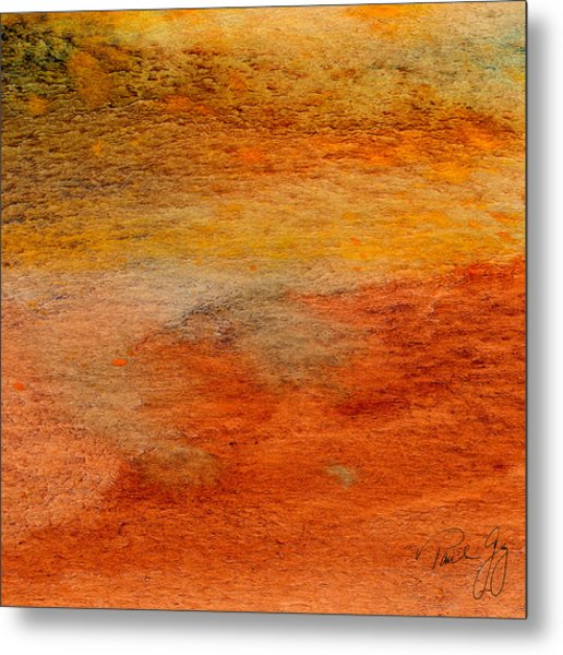 Rust And Sand 2 Metal Print