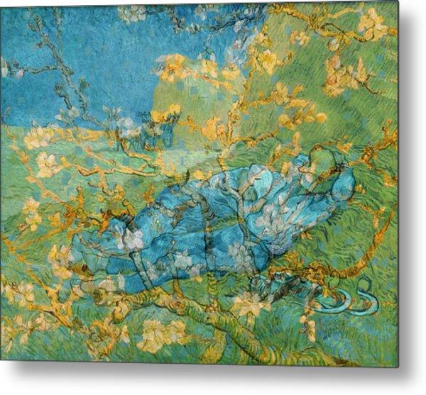 Rustic 6 Van Gogh Metal Print