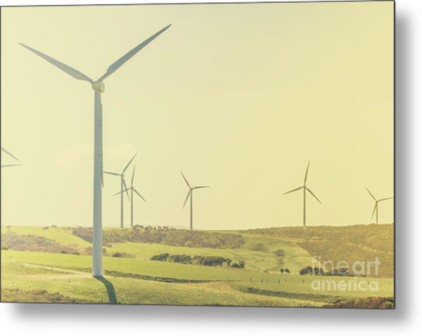 Rustic Renewables Metal Print