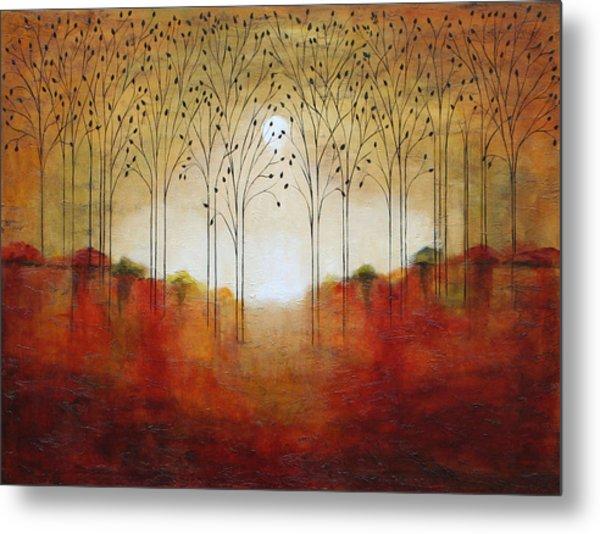 Rustic Woods Metal Print