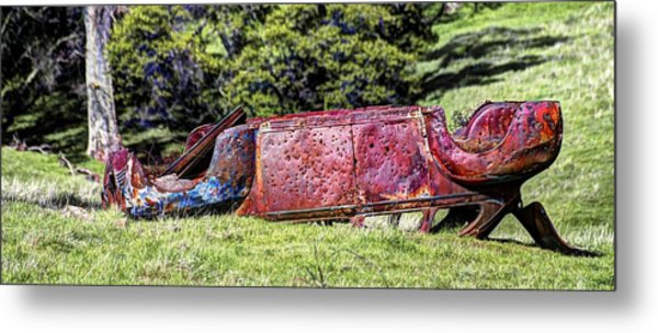 Rusty And Forgotten Metal Print