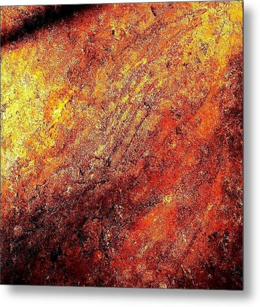 Rusty Flirt Metal Print