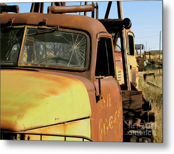Rusty Tow Metal Print by Slade Roberts