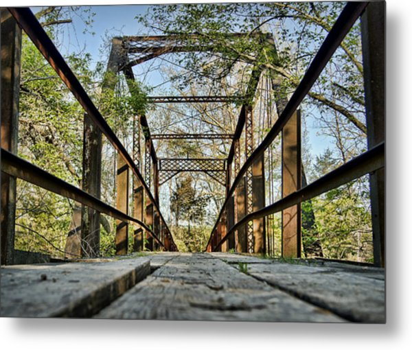 Englewood Bridge Metal Print