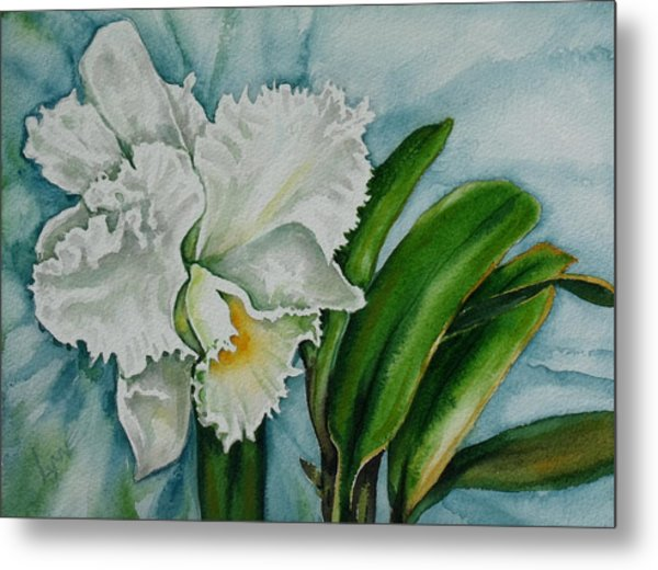 Ruth's Orchid Metal Print