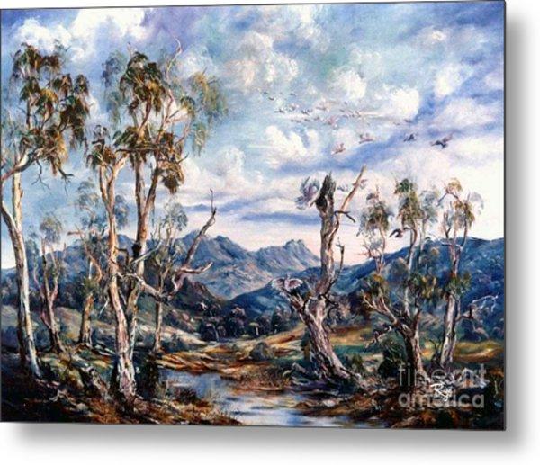 Rwetyepme, Mount Sonda Central Australia Metal Print
