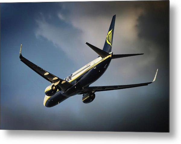 Ryanair Metal Print