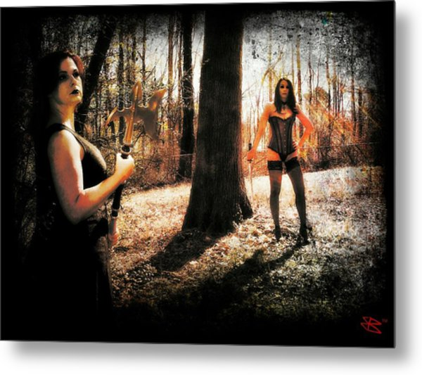 Ryli And Nancy 1 Metal Print