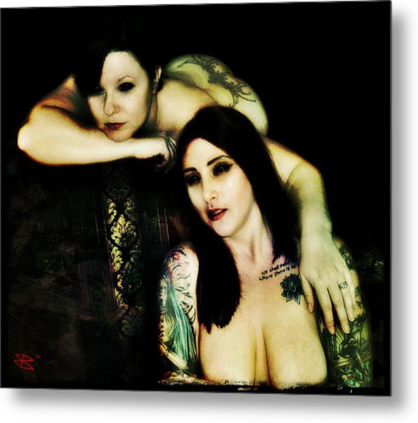 Ryli And Khrist 2 Metal Print