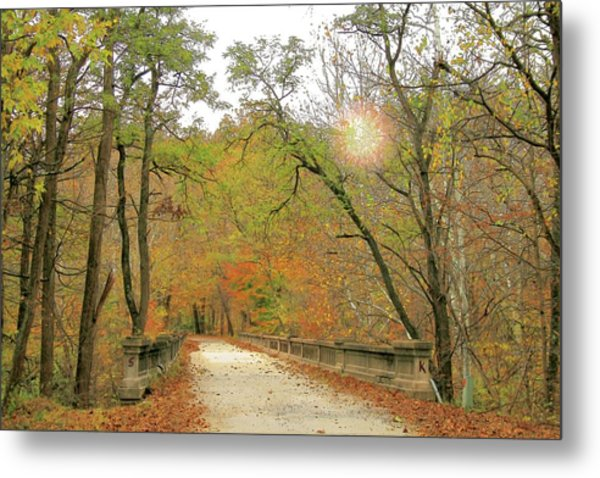 S And K Bridge Metal Print