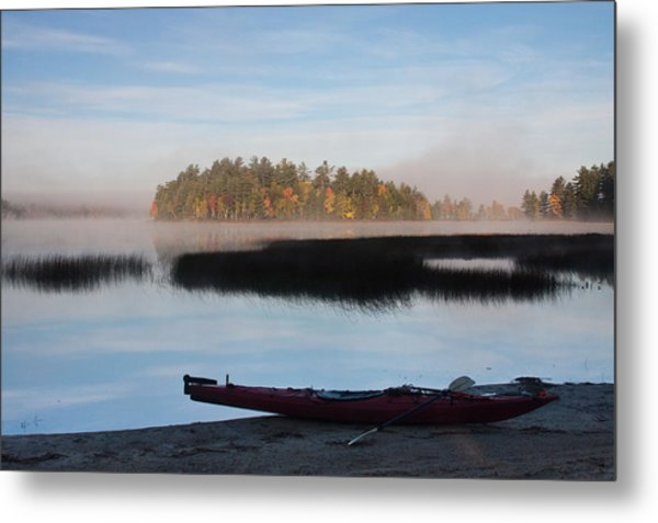 Sabao Morning Metal Print