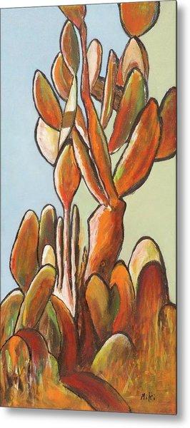 Sabar Cactus Metal Print