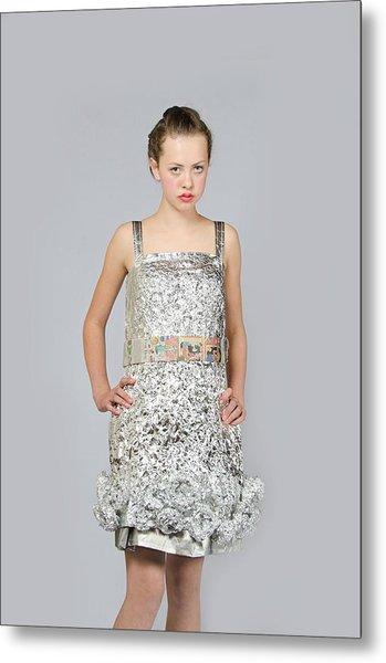 Nicoya In Dress Secondary Fashion 2 Metal Print