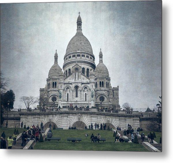 Sacre Coeur Paris II Metal Print