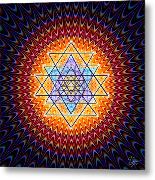 Sacred Geometry 141 Metal Print