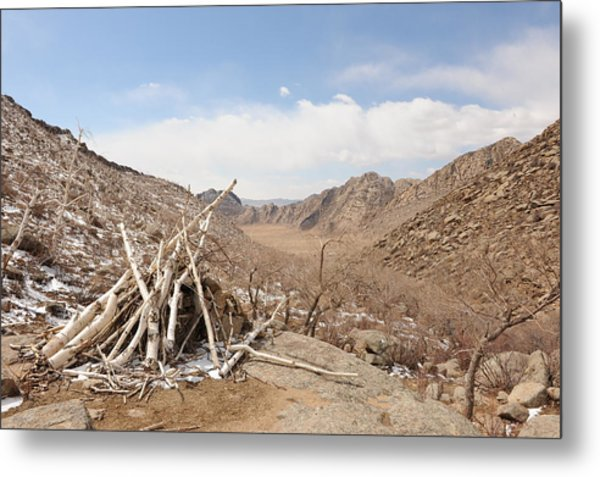 Sacred Mountain Metal Print by Jessica Rose