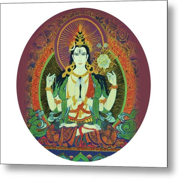Sada Shiva  Metal Print