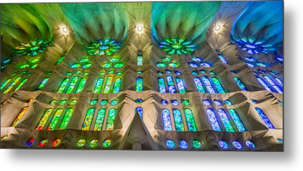 Sagrada Familia Northeast Wall Barcelona Metal Print